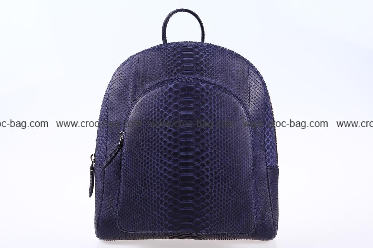 กระเป๋าเป้สะพายหนังงูเหลือม 3558