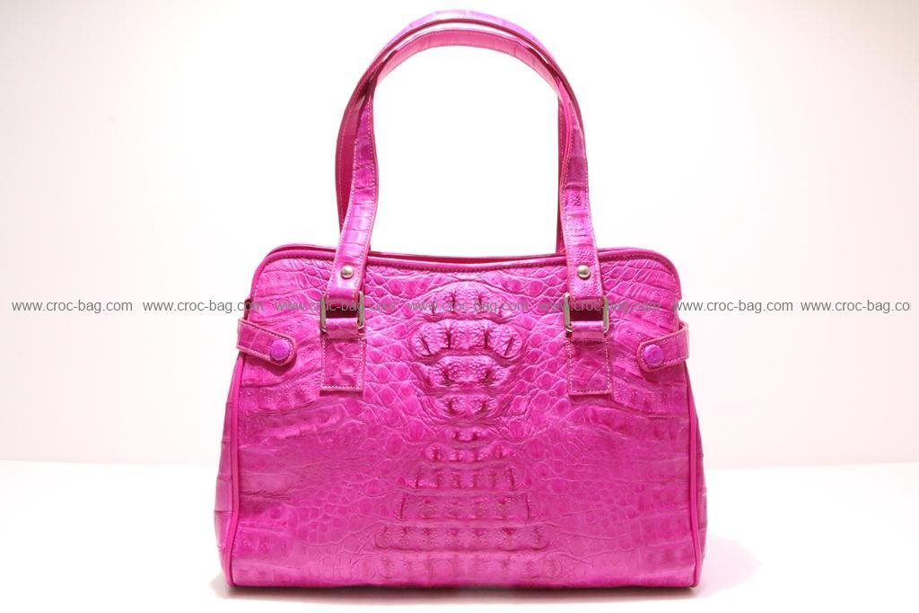 กระเป๋าถือหนังจระเข้สำหรับคุณผู้หญิง 2371
