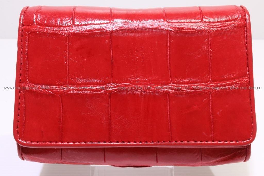 กระเป๋าสตางค์หนังจระเข้สำหรับคุณผู้หญิง  2827