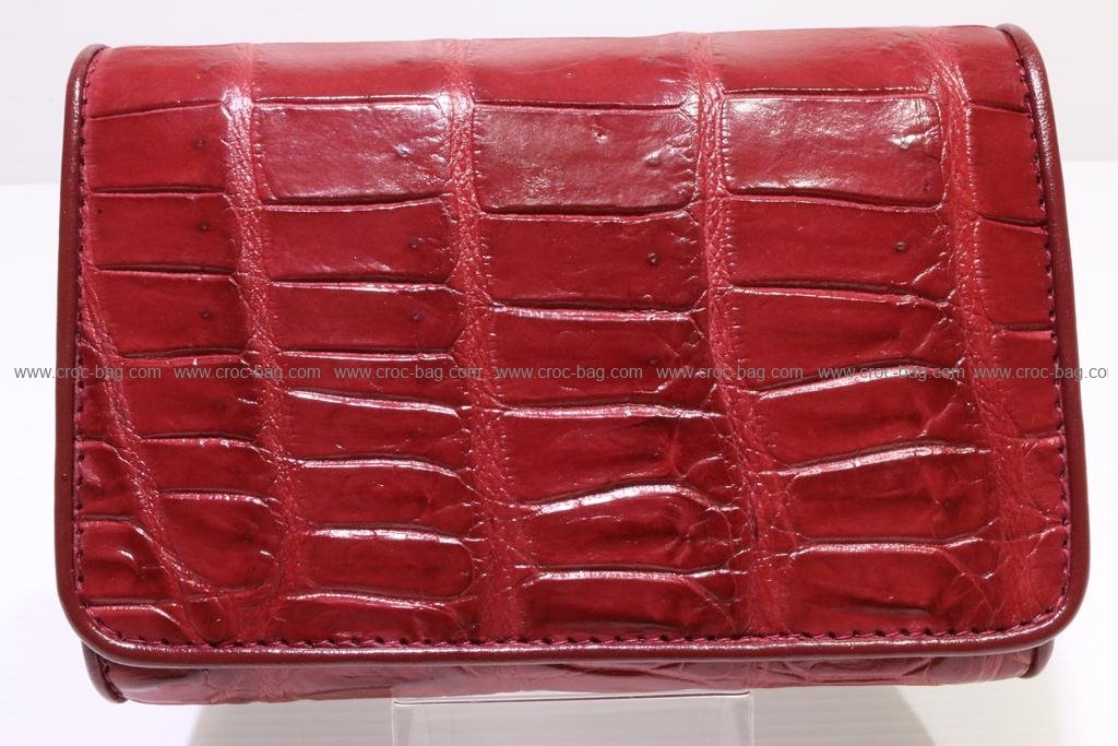 กระเป๋าสตางค์หนังจระเข้สำหรับคุณผู้หญิง 2830