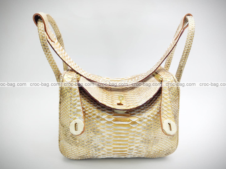 กระเป๋าหนังงูแท้  5222