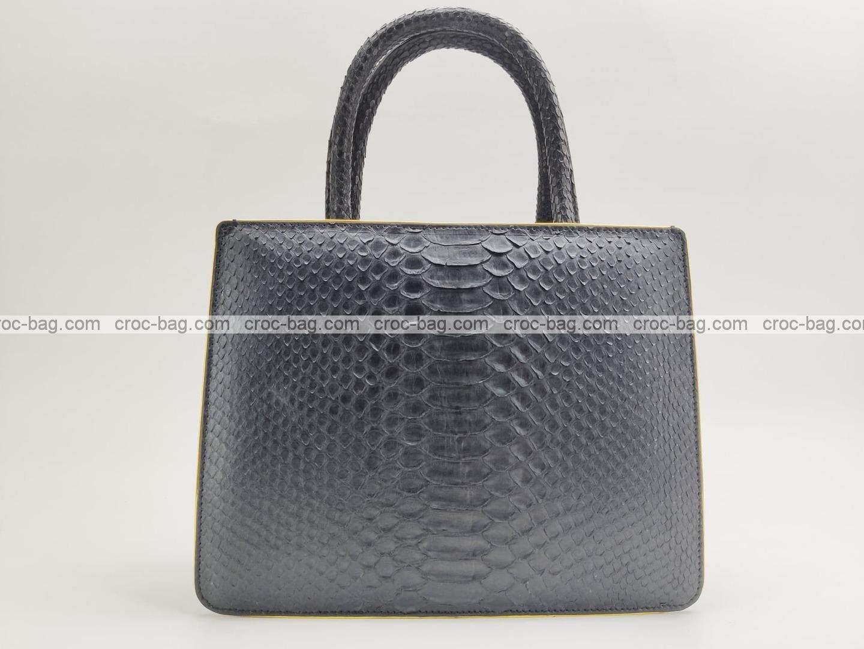 กระเป๋าหนังงูแท้  5234