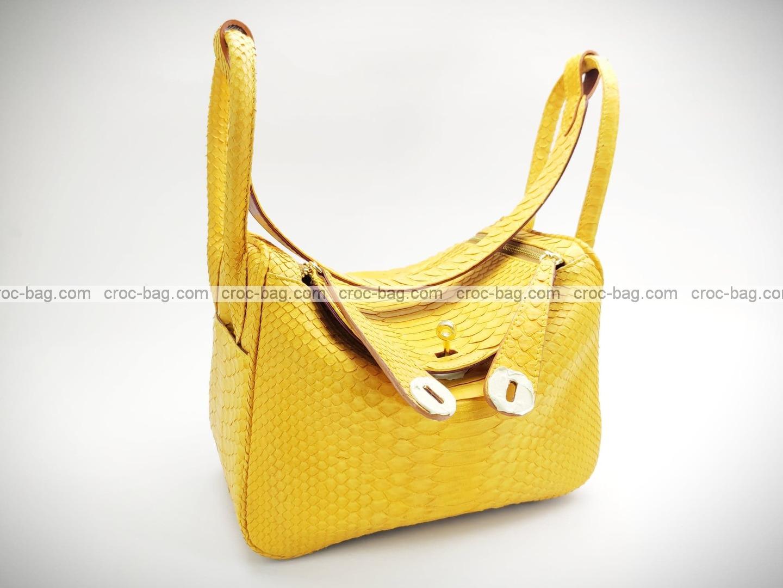 กระเป๋าหนังงูแท้  5226