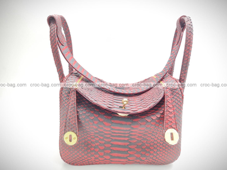 กระเป๋าหนังงูแท้  5224