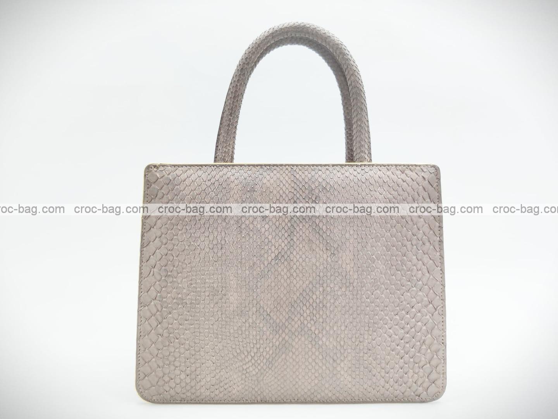 กระเป๋าหนังงูแท้  5233