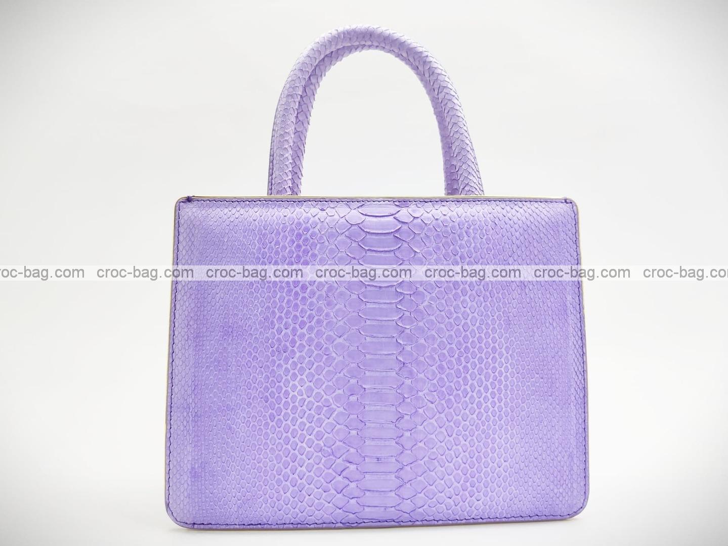 กระเป๋าหนังงูแท้  5232