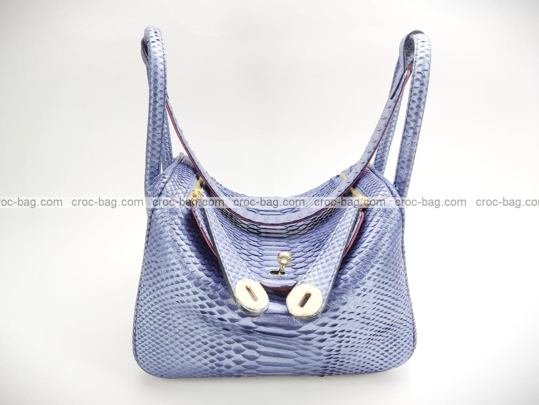 กระเป๋าหนังงูแท้  5221