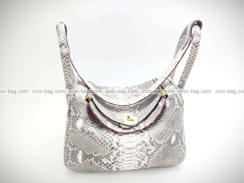 กระเป๋าหนังงูแท้  5227