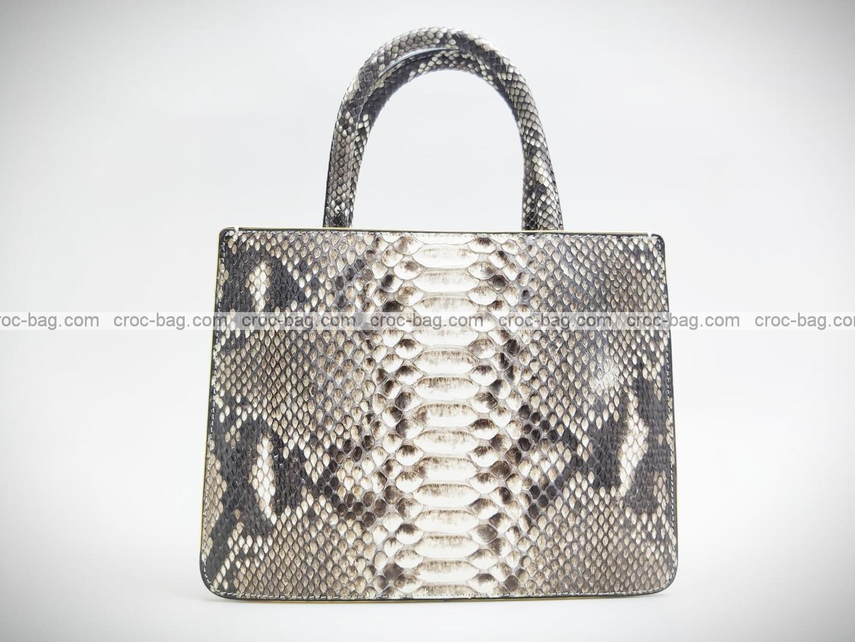 กระเป๋าหนังงูแท้  5235