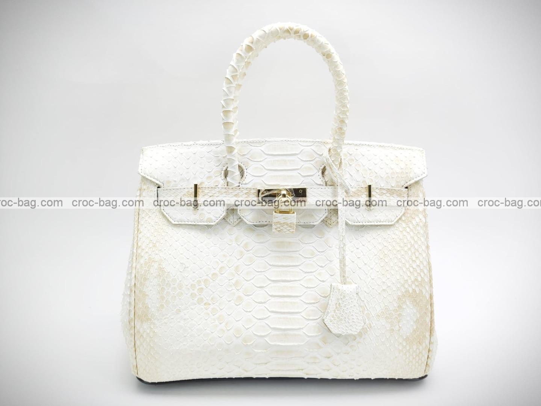 กระเป๋าหนังงูแท้  5228