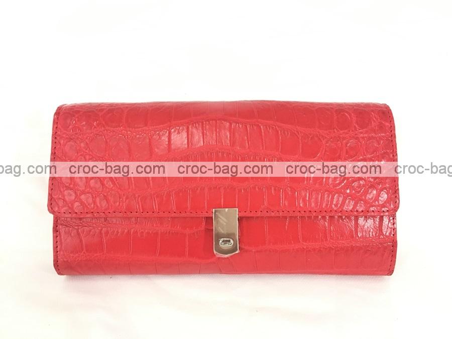 กระเป๋าสะพายหนังระเข้ผู้หญิง 3630