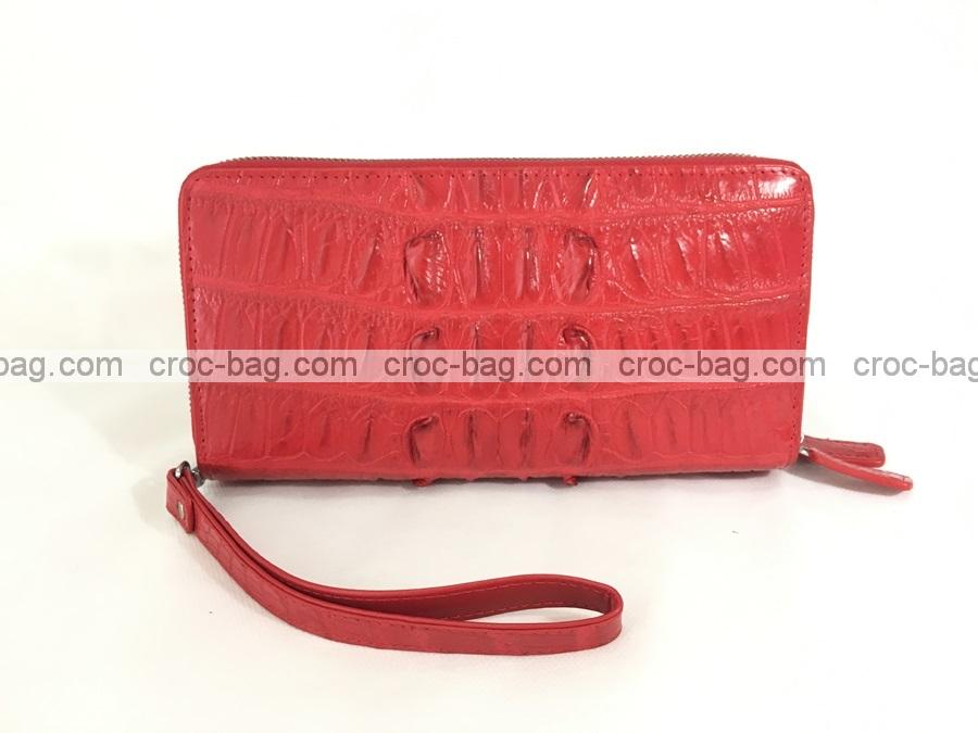 กระเป๋าสตางค์ซิปคู่หนังจระเข้ 3634