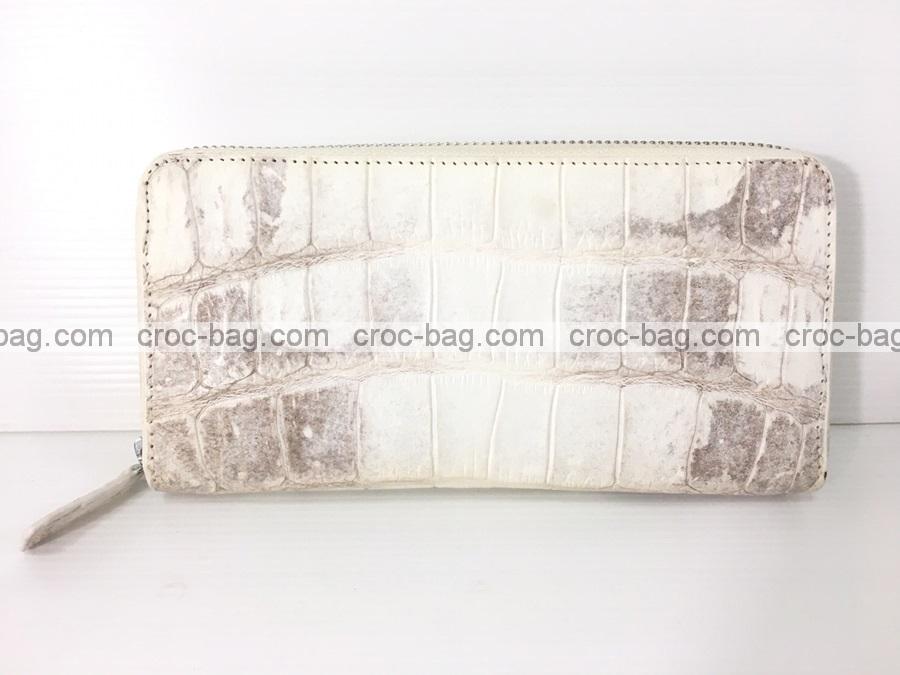 กระเป๋าสตางค์ซิปเดี่ยวหนังจระเข้ 3694