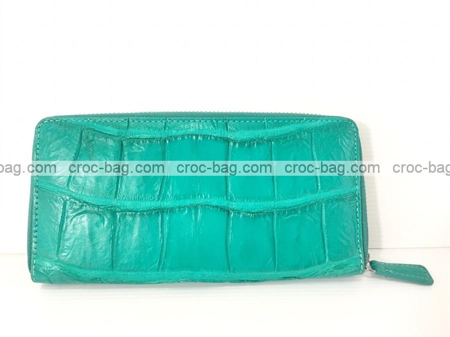กระเป๋าสตางค์หนังจระเข้ 3696