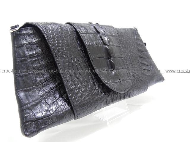 คลัทช์กระเป๋าหนังจระเข้สำหรับคุณผู้หญิง 133а