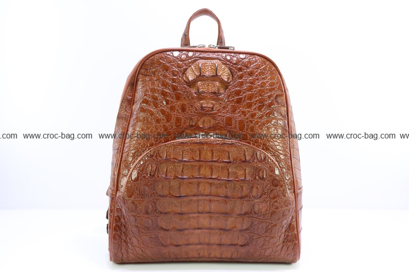 กระเป๋าสะพายหนังจระเข้สำหรับคุณผู้หญิง 3463