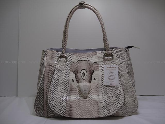 กระเป๋าหนังงูเห่าสำหรับผู้หญิง 671