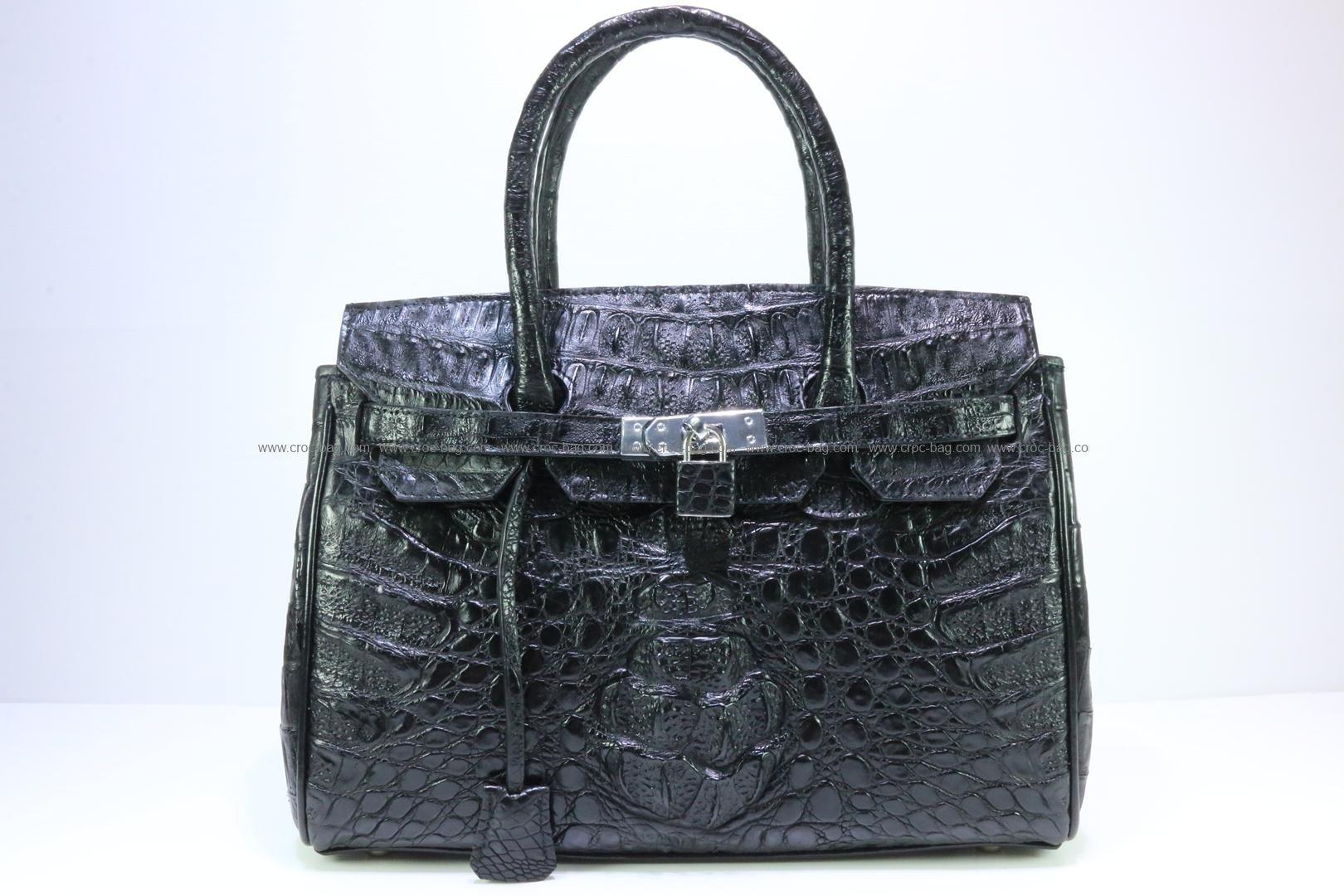 กระเป๋าถือหนังจระเข้สำหรับคุณผู้หญิง 816