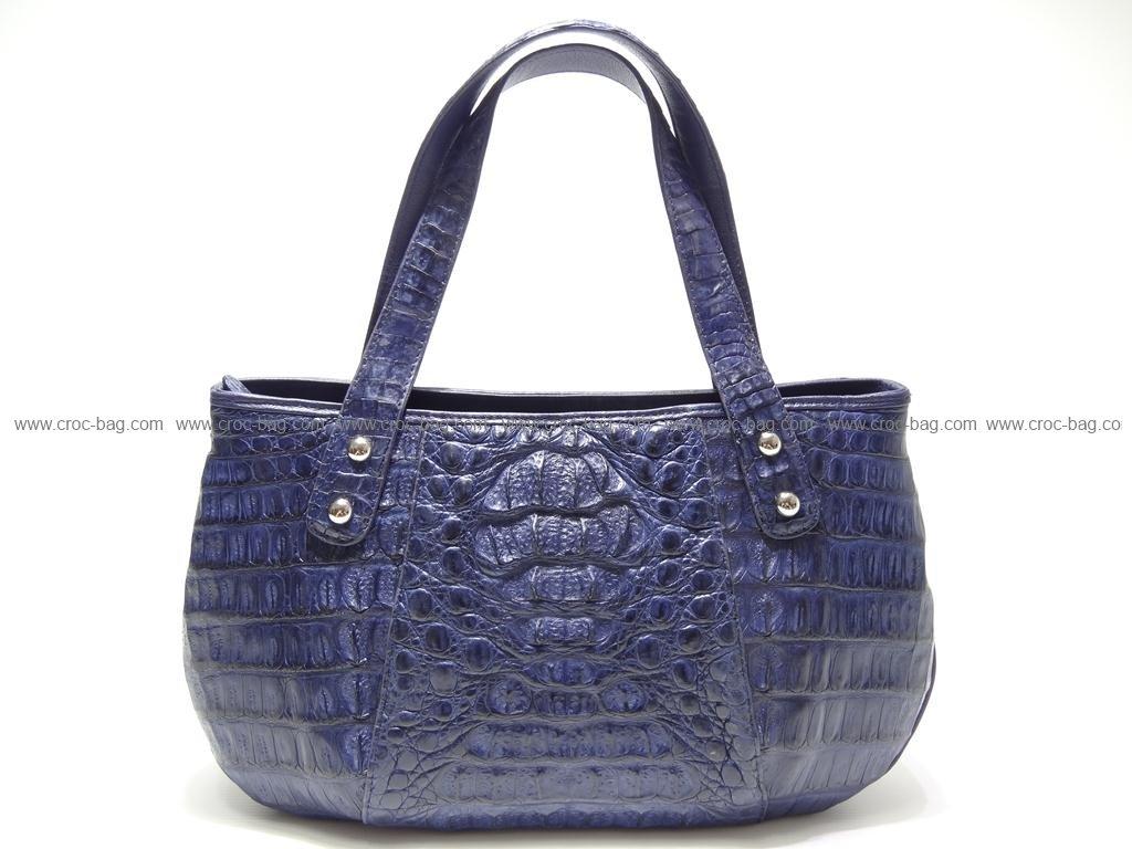 กระเป๋าถือหนังจระเข้สำหรับคุณผู้หญิง 2414
