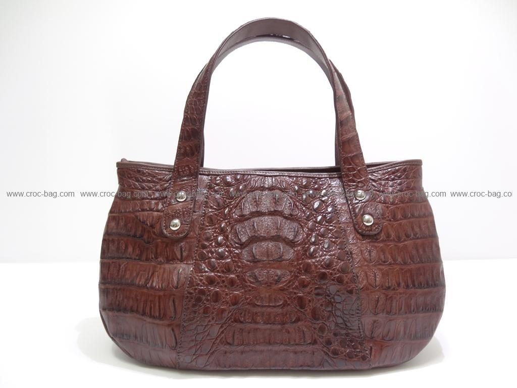 กระเป๋าถือหนังจระเข้สำหรับคุณผู้หญิง 2416
