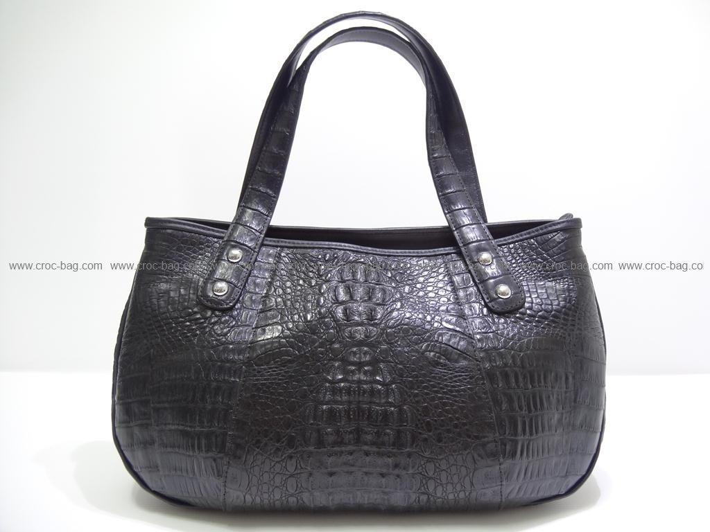 กระเป๋าถือหนังจระเข้สำหรับคุณผู้หญิง 2415