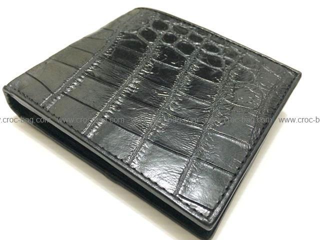 กระเป๋าสตางค์หนังจระเข้สำหรับผู้ชาย 1609