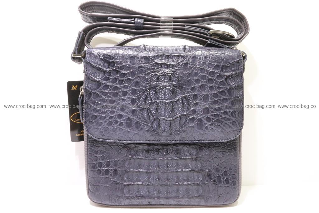 กระเป๋าสะพายหนังจระเข้ผู้ชาย 2616