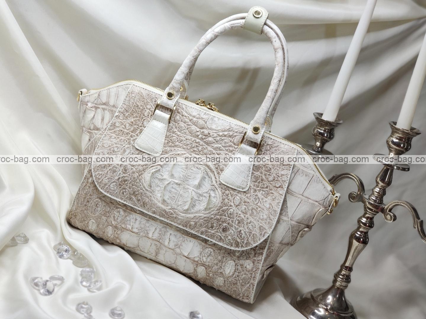 กระเป๋าหนังจระเข้สำหรับผู้หญิง 5262