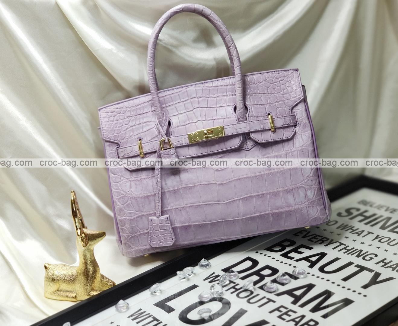 กระเป๋าหนังจระเข้สำหรับผู้หญิง 5312