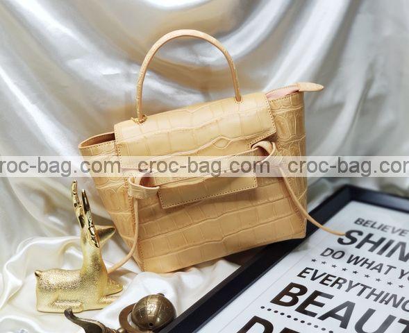 กระเป๋าหนังจระเข้สำหรับผู้หญิง 5321