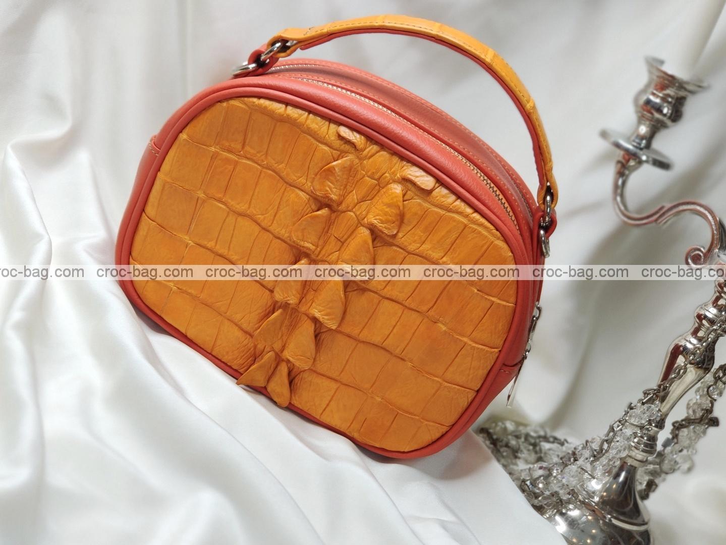 กระเป๋าหนังจระเข้สำหรับผู้หญิง 5329