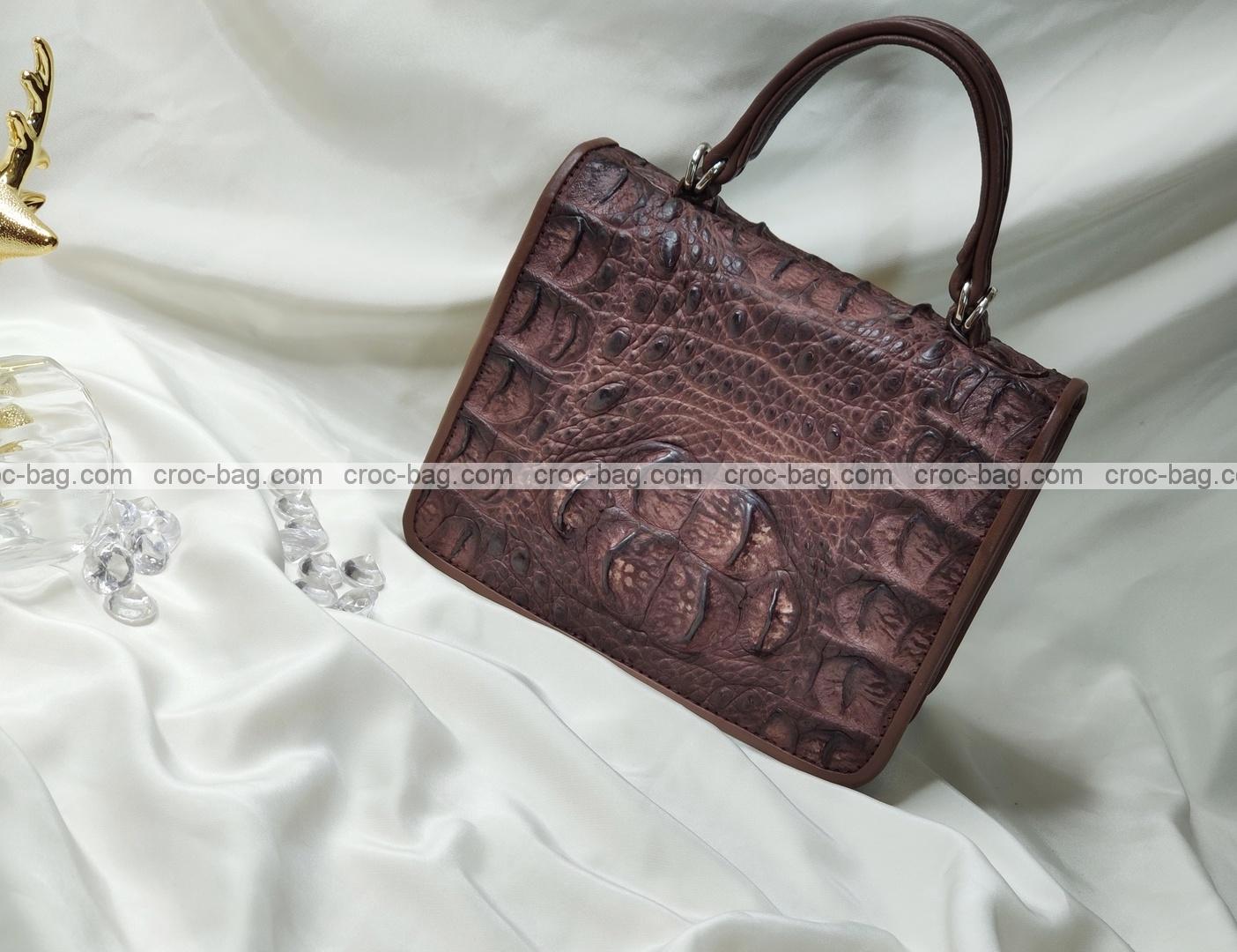 กระเป๋าหนังจระเข้สำหรับผู้หญิง 5271
