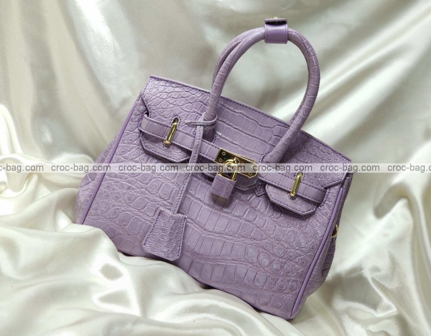 กระเป๋าหนังจระเข้สำหรับผู้หญิง 5323