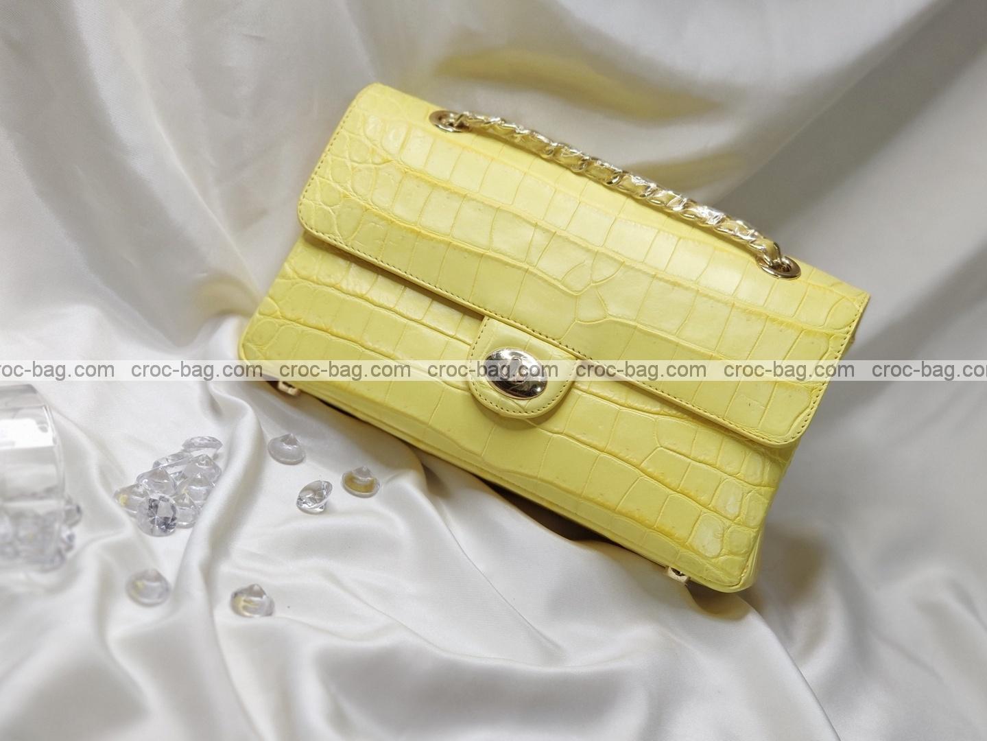 กระเป๋าหนังจระเข้สำหรับผู้หญิง 5317