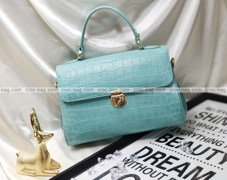 กระเป๋าหนังจระเข้สำหรับผู้หญิง 5313
