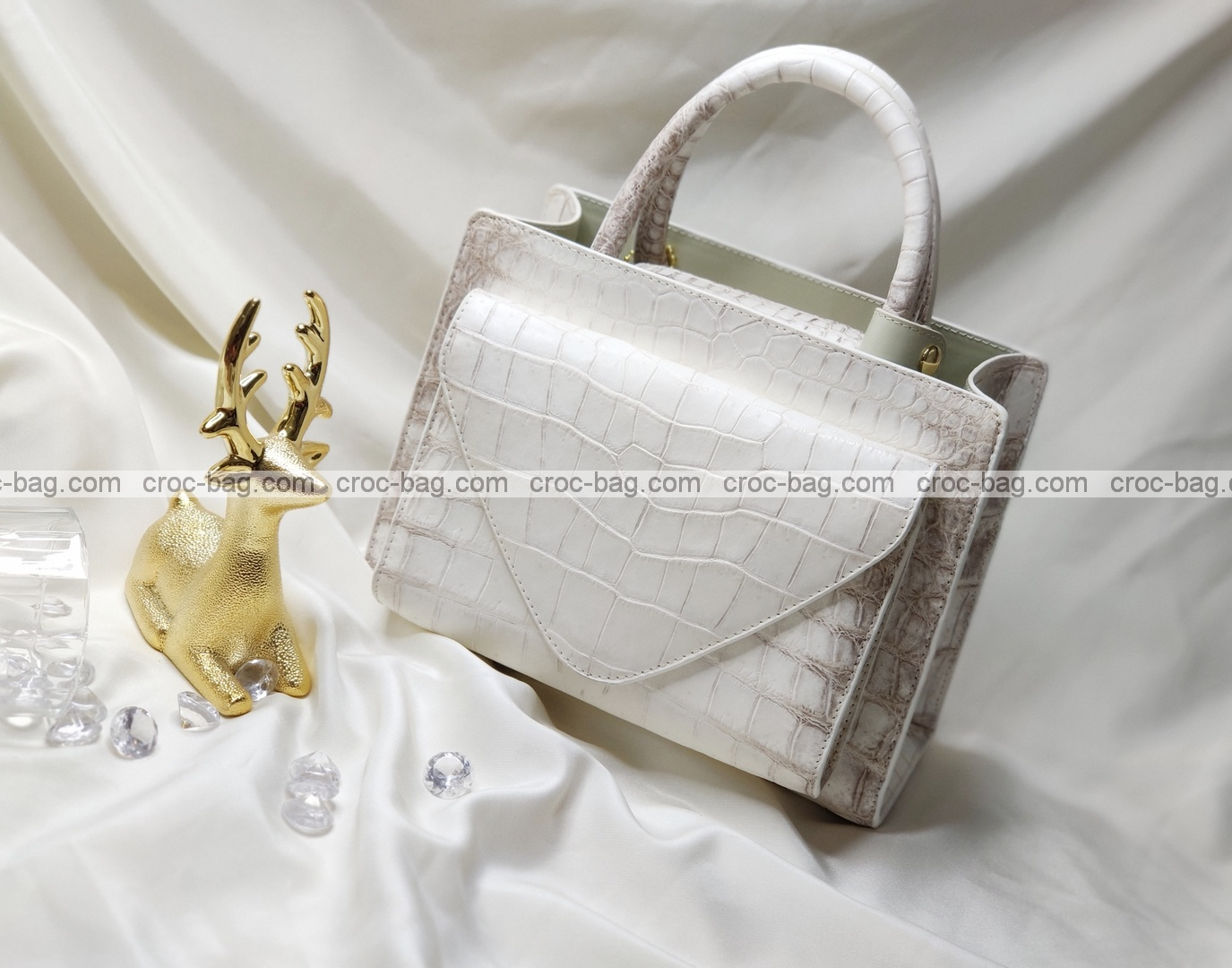 กระเป๋าหนังจระเข้สำหรับผู้หญิง 5263