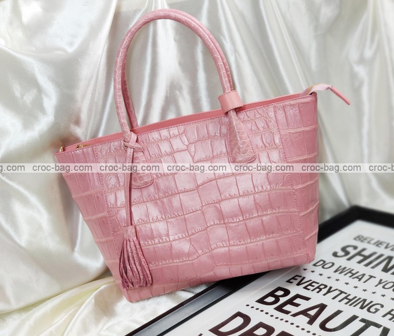 กระเป๋าหนังจระเข้สำหรับผู้หญิง 5261