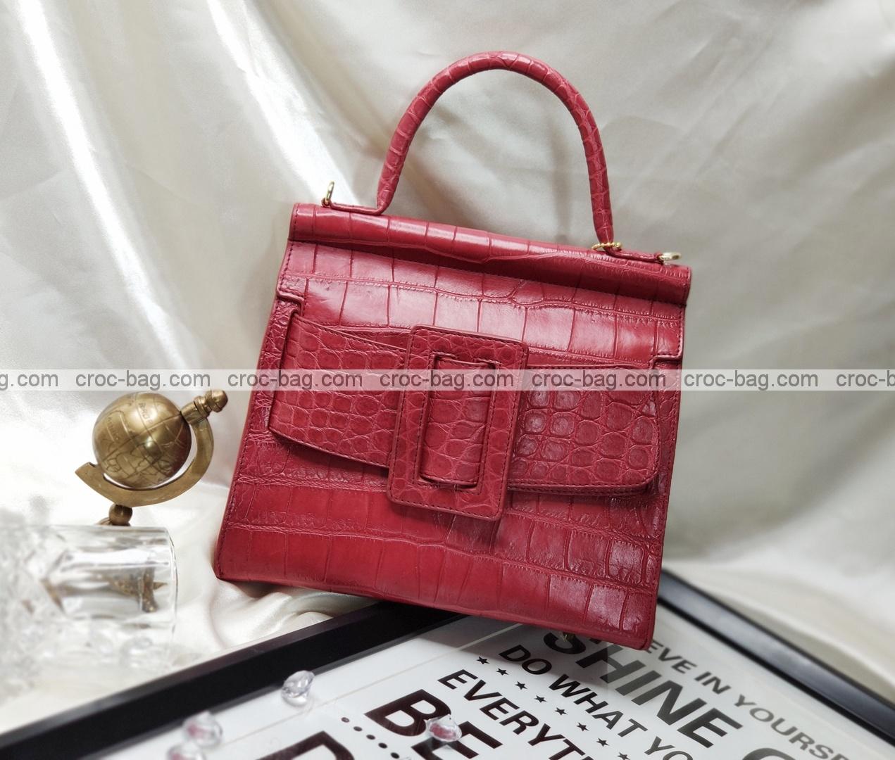 กระเป๋าหนังจระเข้สำหรับผู้หญิง 5268