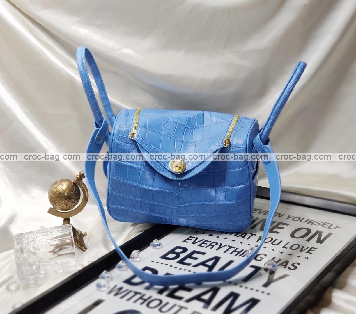 กระเป๋าหนังจระเข้สำหรับผู้หญิง 5267