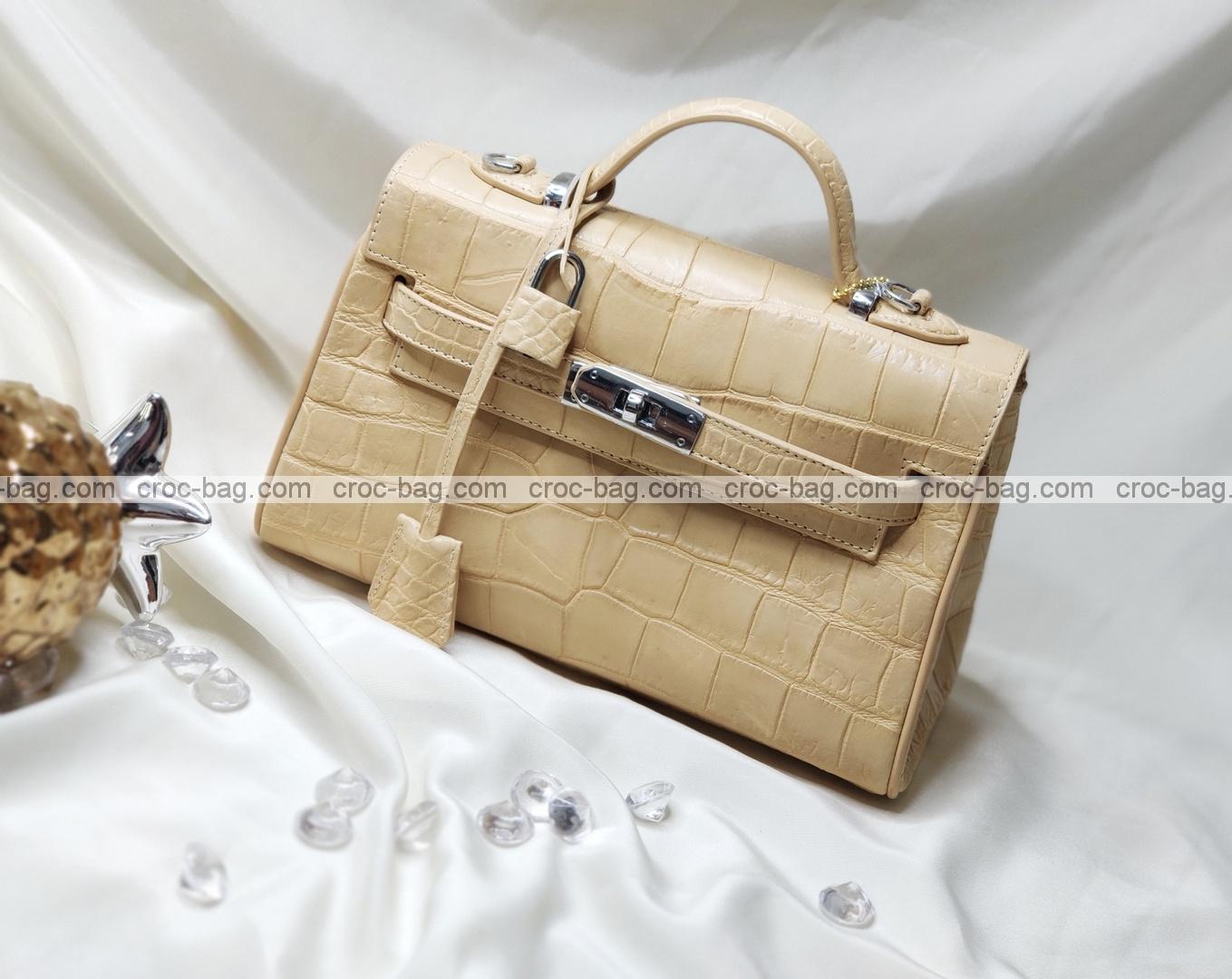 กระเป๋าหนังจระเข้สำหรับผู้หญิง 5264