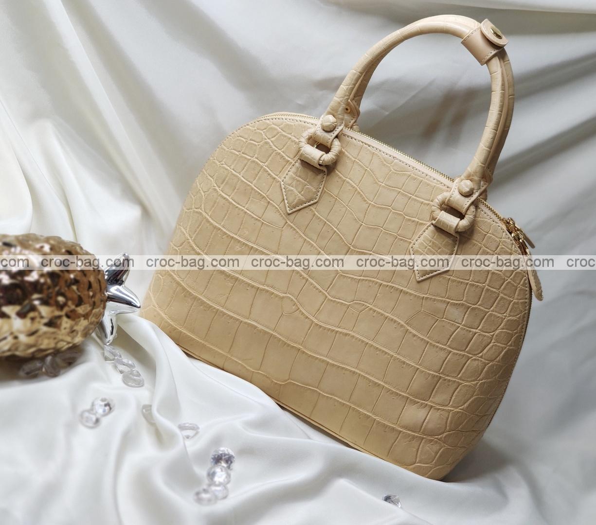กระเป๋าหนังจระเข้สำหรับผู้หญิง 5265