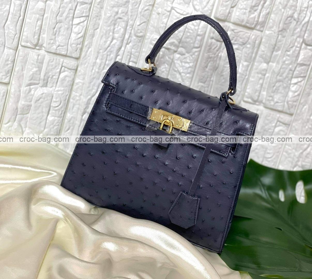 กระเป๋าหนังนกกระจอกเทศหรับผู้หญิง 5297