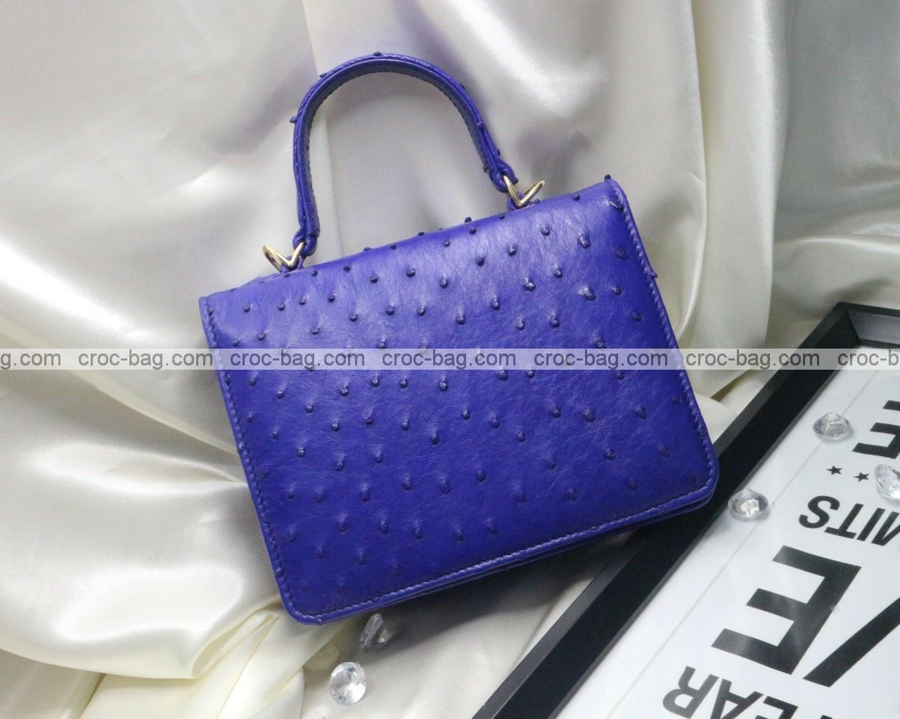 กระเป๋าหนังนกกระจอกเทศหรับผู้หญิง 5290