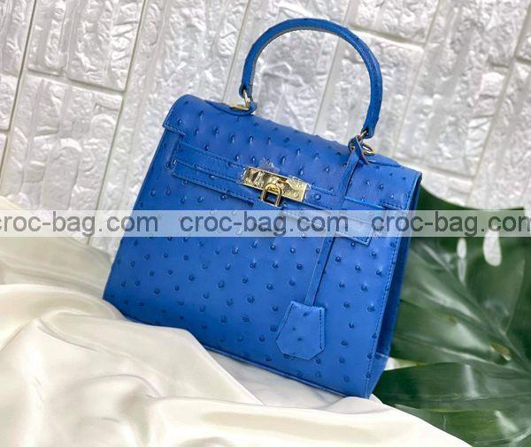 กระเป๋าหนังนกกระจอกเทศหรับผู้หญิง 5300