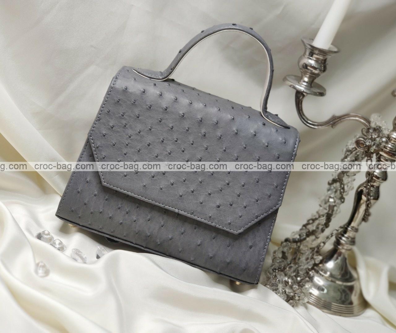 กระเป๋าหนังนกกระจอกเทศหรับผู้หญิง 5283