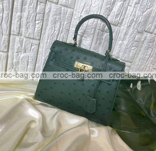 กระเป๋าหนังนกกระจอกเทศหรับผู้หญิง 5299