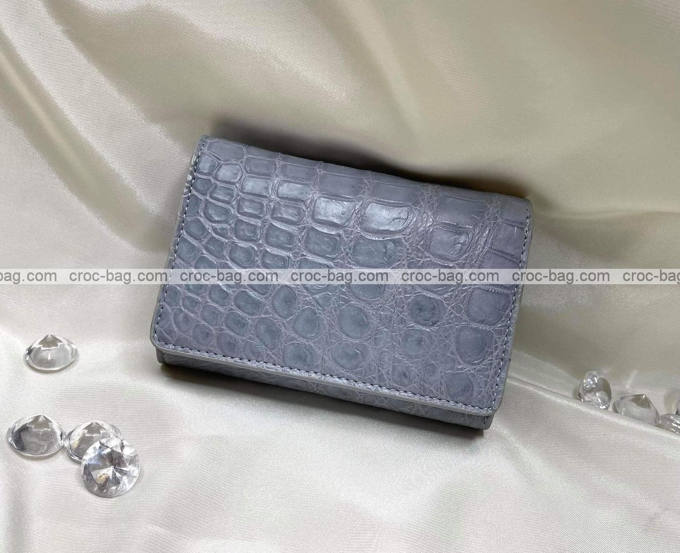 กระเป๋าหนังจระเข้สำหรับผู้หญิง 5351