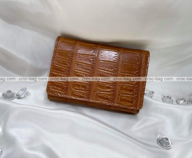 กระเป๋าหนังจระเข้สำหรับผู้หญิง 5350