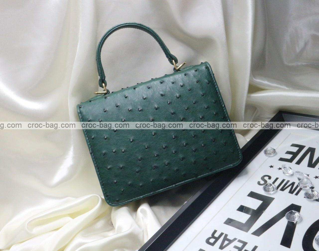 กระเป๋าหนังนกกระจอกเทศหรับผู้หญิง 5289