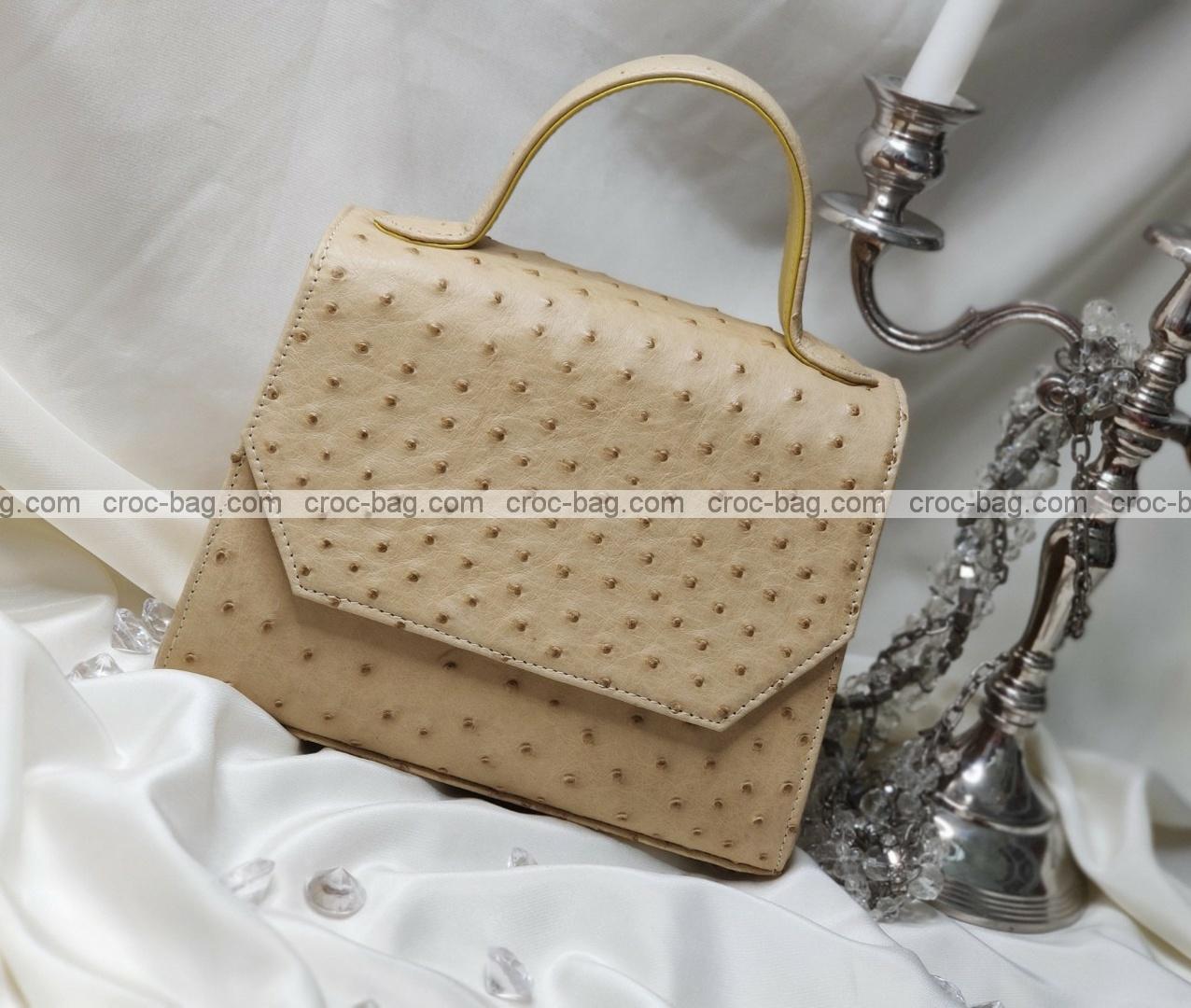 กระเป๋าหนังนกกระจอกเทศหรับผู้หญิง 5285